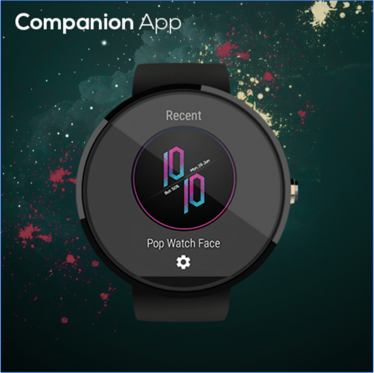 Pop Watch Face customize